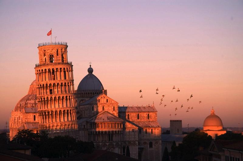 alba duomo di Pisa