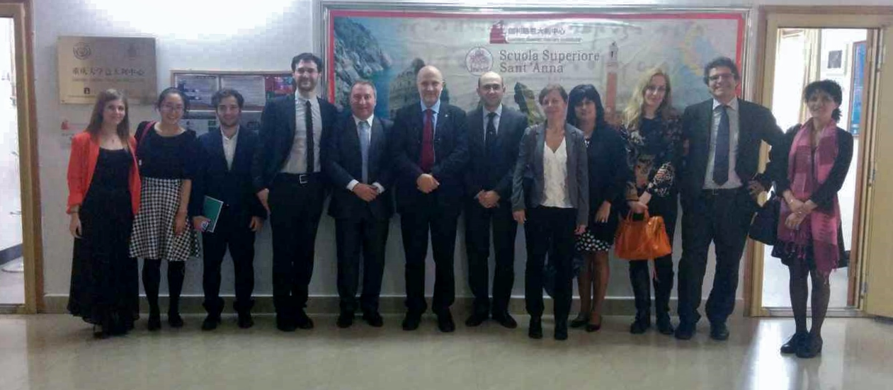 SSSUP and University of Pisa visit CQU