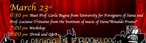 Workshop on Italian Music