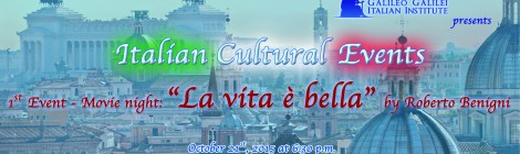 "1st MOVIE NIGHT ""LA VITA E' BELLA"""