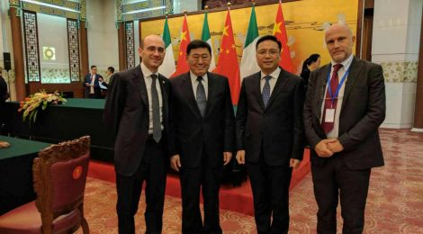 """""""Sino-Italian Research and Innovation Area"""": Cooperation agreement between Sant'Anna School of Advanced Studies, Chongqing University and Bishan District"""