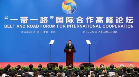"""Director Di Minin attended the """"Belt and Road Forum"""" in Beijing"""