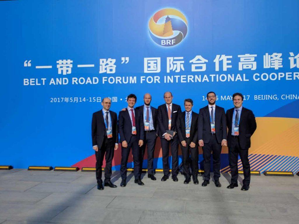 OBOR forum italian delegation