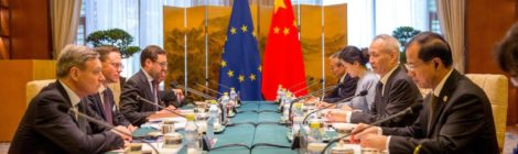 """The EU and China are teaming up to readdress global trade rules to face Trump's """"America First"""" agenda"""