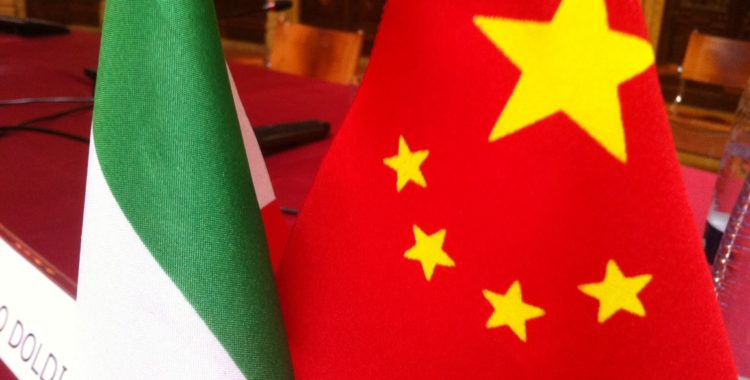 Task Force China. A new era for Sino-Italian relations