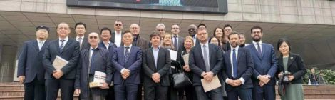 Visit of the Italian Parliamentary Delegation to the Galileo Galilei Italian Institute