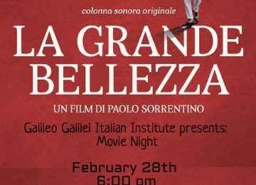 "Movie night ""La Grande Bellezza"" by Paolo Sorrentino"