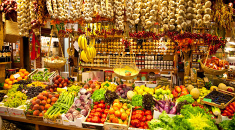The Italian Food Market in Chongqing