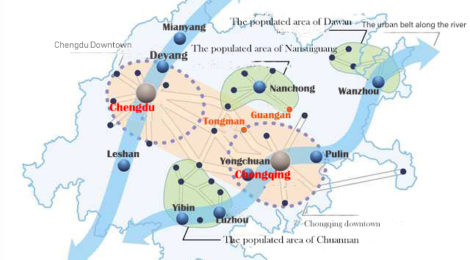 Urbanisation in China and the Chongqing-Chengdu city cluster