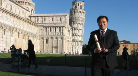 From Pisa to Chongqing: our true friend Prof Weiwei