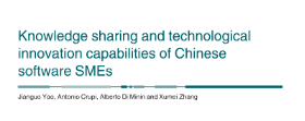 JOINT SCIENTIFIC PAPERS - First sino-italian paper available!