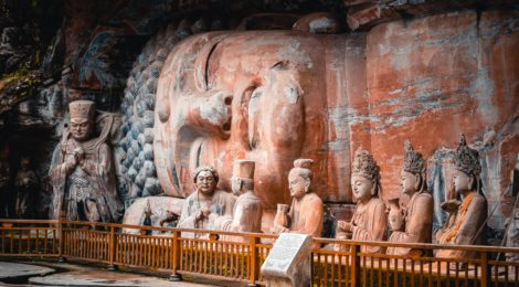 Dazu Stone Carvings - Sino-Italian cooperation on cultural relics protection and restoration. Part 1