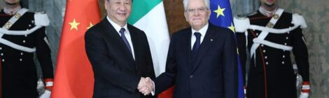 ITALY AND CHINA CELEBRATE THEIR FIRST 50 YEARS OF COOPERATION